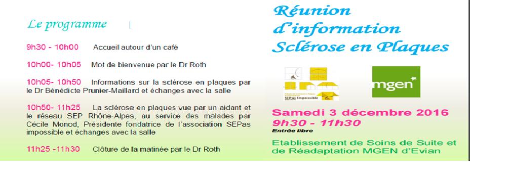 Réunion Evian