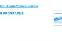 Bannière AnimationSEP Savoie