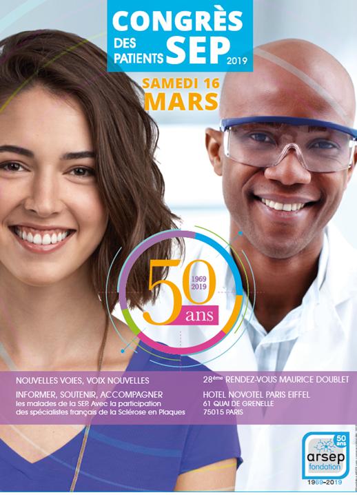 Affiche Congrès des patients Paris_ARSEP