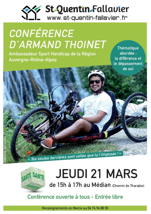 Conférence Armand Thoinet