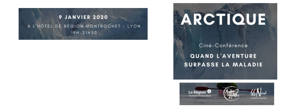 Bannière projection film Lyon